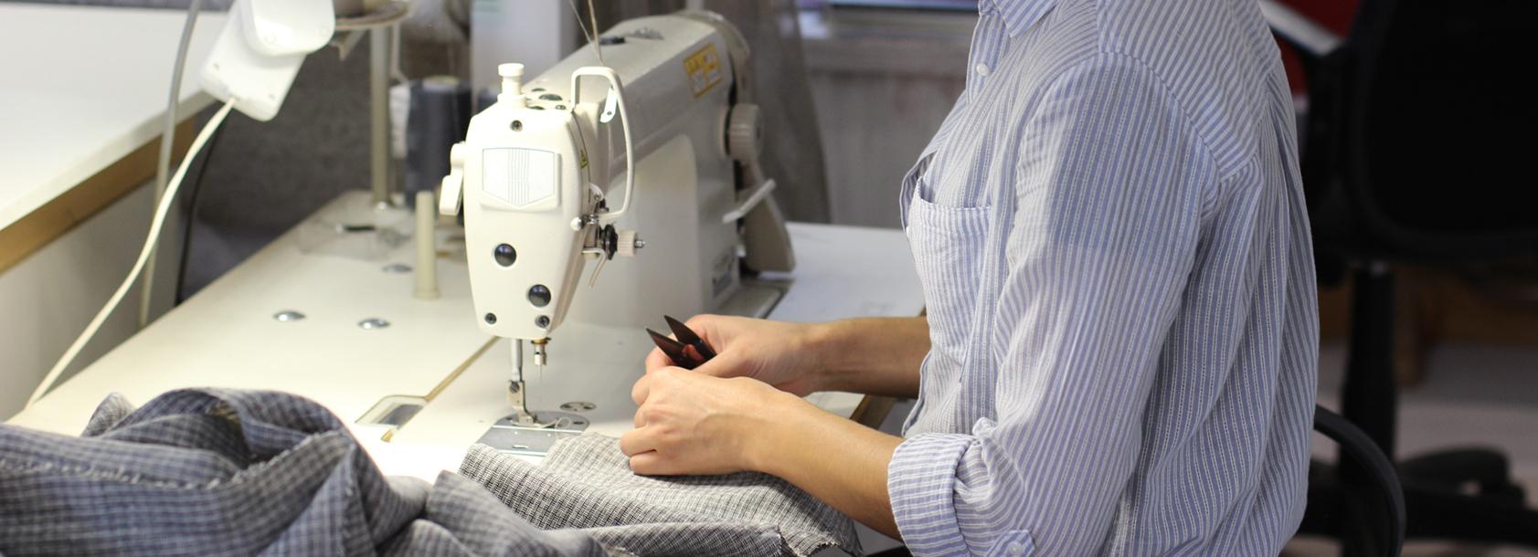 confection textile sur mesure par Lignes Directes